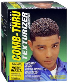 Comb Thru Texturizer for Black Men