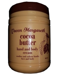 Queen Margareth Cocoa Butter Hand And Body Cream