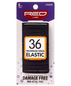 Black 36 Maximum Hold Elastic HEB08