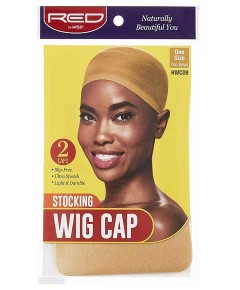 Stocking Wig Cap Dark Beige HWC09