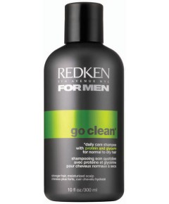 Men Go Clean Daily Care Shampoo