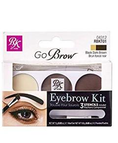 Go Brow Eyebrow Kit And Stencils RBKT01
