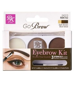 Go Brow Eyebrow Kit And Stencils RBKT02