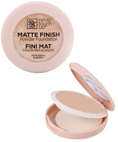 Never Touch Up Matte Finish Powder Foundation RMPFN02 Ivory