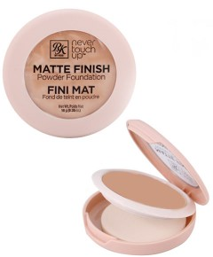 Never Touch Up Matte Finish Powder Foundation RMPFN04 Nude
