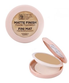 Never Touch Up Matte Finish Powder Foundation RMPFN05 Beige Glow