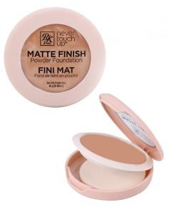 Never Touch Up Matte Finish Powder Foundation RMPFN06 Medium Beige