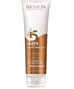 Revlonissimo 45 Days Total Care Conditioning Shampoo For Intense Coppers