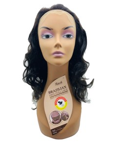 Brazilian Full Lace HH Wavy Wave Medium Wig