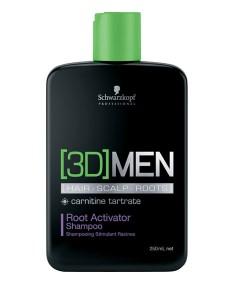Professional 3D Men Root Activator Shampoo