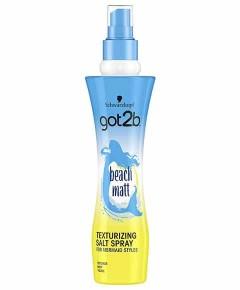 Got2b Beach Matt Mermaid Look Texturizing Salt Spray