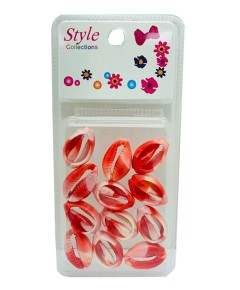 Style Collection Shell Coloured Beads BD016