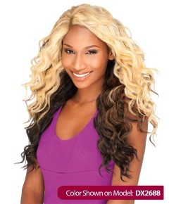 Empress Syn Easy Twist Lace Front L Shape Part Wig