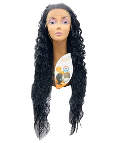 Brazilian Remi Deep Part Blended HH Emotion Swiss Lace Wig