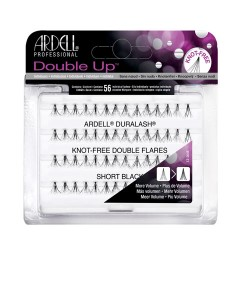 Ardell Double Up Knot Free Double Flares Lashes Short Black