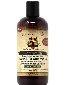 Jamaican Black Castor Oil Men Hair And Beard Wash