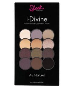 Sleek I Divine Eyeshadow Palette Au Naturel 601