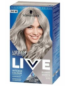 Live Urban Metalic Intense Permanent Colour U70 Blonde Quartz