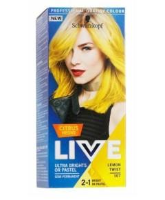 Live Citrus Neon Ultra Bright Or Pastel Semi Permanent Color