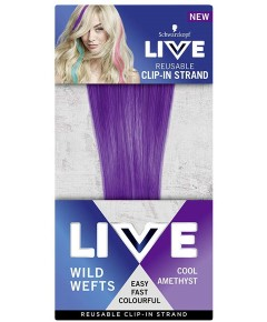 Live Reusable Clip In Strand Wild Wefts