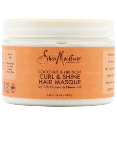 Coconut And Hibiscus Curl And Shine Hair Masque