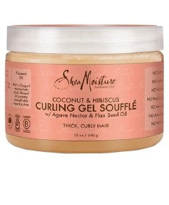 Coconut And Hibiscus Curling Gel Souffle