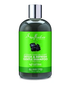 Activated Charcoal And Mint Detox And Refresh Gentle Shampoo
