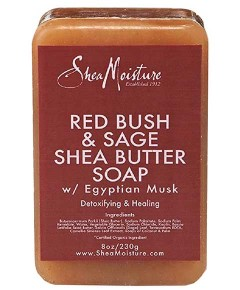 Organic Red Bush And Sage Shea Butter Soap