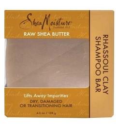 Raw Shea Butter Rhassoul Clay Shampoo Bar