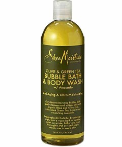 Olive And Green Tea Bubble Bath And Body Wash