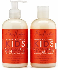 Mango And Carrot Kids Extra Nourishing Shampoo And Conditioner