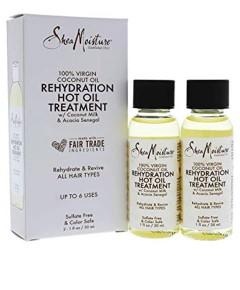 100 Percent Virgin Coconut Oil Rehydration Hot Oil Treatment