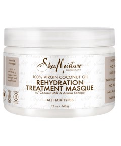 100 Percent Virgin Coconut Oil Rehydration Treatment Masque
