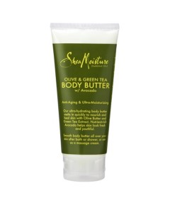 Olive And Green Tea Body Butter