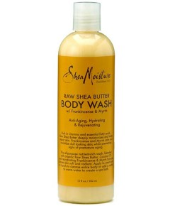 Raw Shea Butter Body Wash With Frankincense And Myrrh