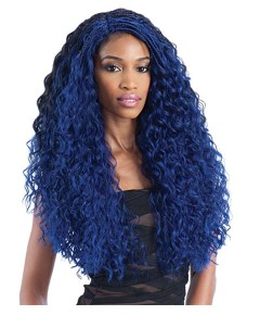 Freetress Equal Lace Front Syn Flexi Curl Braids