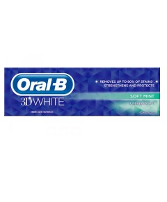 3D White Soft Mint Toothpaste