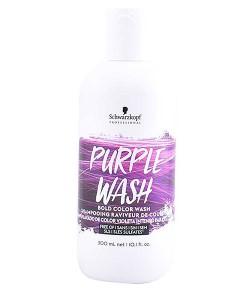 Bold Color Purple Wash