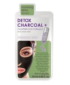Detox Charcoal Face Mask Sheet