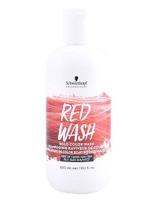 Bold Color Red Wash