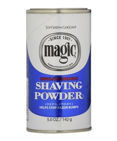Magic Shaving Powder Blue