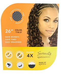 Spetrabraid 4X Pre Stretched Syn Luxury Premium Hair