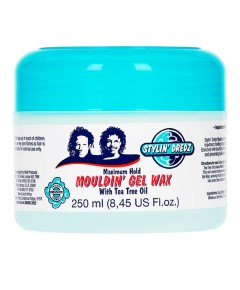 Stylin Dredz Maximum Hold Mouldin Gel Wax With Tea Tree Oil