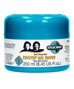 Stylin Dredz Extra Strong Hold Twistin Gel Toffee