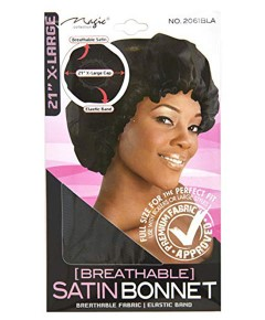 Magic Collection Breathable Satin Bonnet 2061BLA