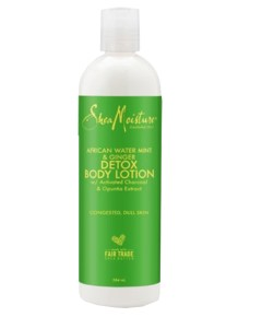 African Water Mint And Ginger Detox Body Lotion