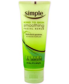 Simple Face Products on Simple Simple   Simple Kind To Skin Smoothing Facial Scrub