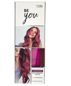 Be You Pink Power Semi Permanent Hair Dye