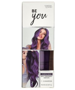 Be You Purple Rain Semi Permanent Hair Dye