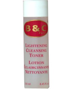 B and C Lightening Cleansing Toner